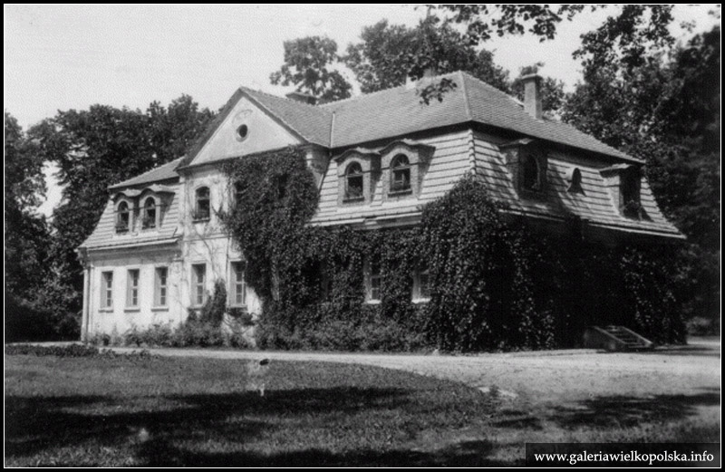 Dwór w Sulisawicach- lata 30. XX wieku