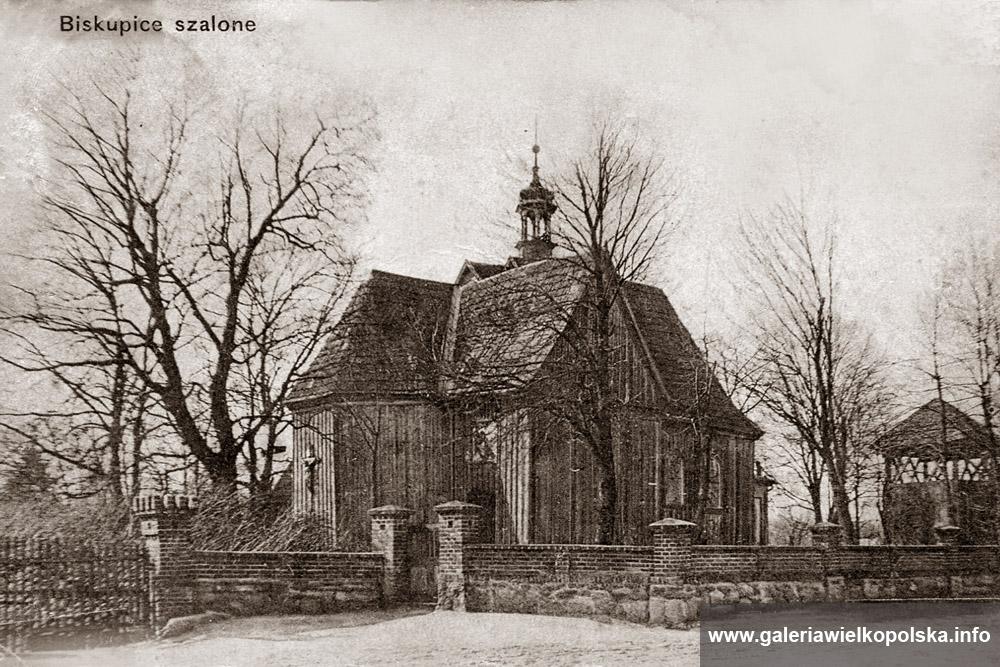 Fotografia z 1913 roku- Biskupice