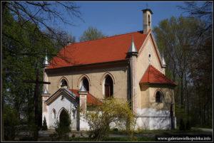 Kościół w Choryni sprzed remontu