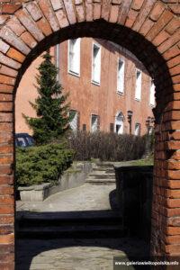 Archiwalne zdjęcie zamku