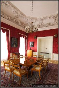 Zamek w Rydzynie- Sala Rycerska