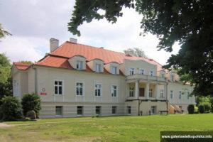 Pałac w Szczurach po remoncie