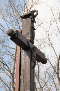 krzyż przydrożny w Kani