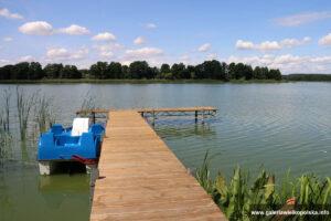 Jezioro Grójeckie - plaża Ostoi Chobienice