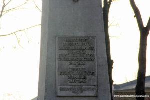 Pomnik Powstańców Wielkopolskich w Czerlejnie
