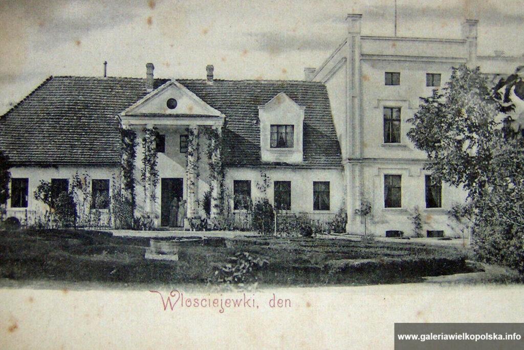 Dwór na początku XX wieku