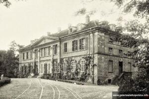 Pałac w Pudliszkach po przebudowie
