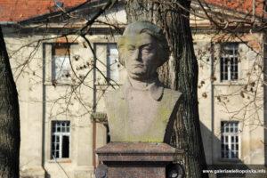 Pałac w Pudliszkach- pomnik Mickiewicza