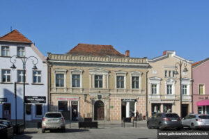 Kamienice na rynku w Rawiczu