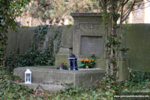 Przykościelny cmentarz w Dolsku