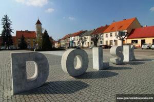 Plac Wyzwolenia w Dolsku