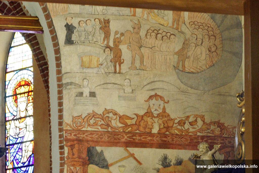 Freski w ostrzeszowskiej farze