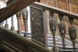 Wnętrze pałacu w Paruszewie