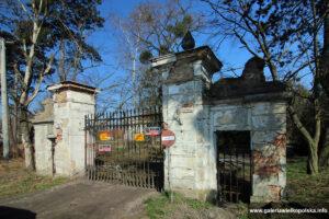 Ozdobna brama wjazdowa