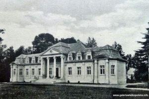 Pałac w Skoraszewicach - początek XX wieku