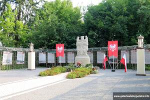 Otoczenie pałacu w Biedrusku