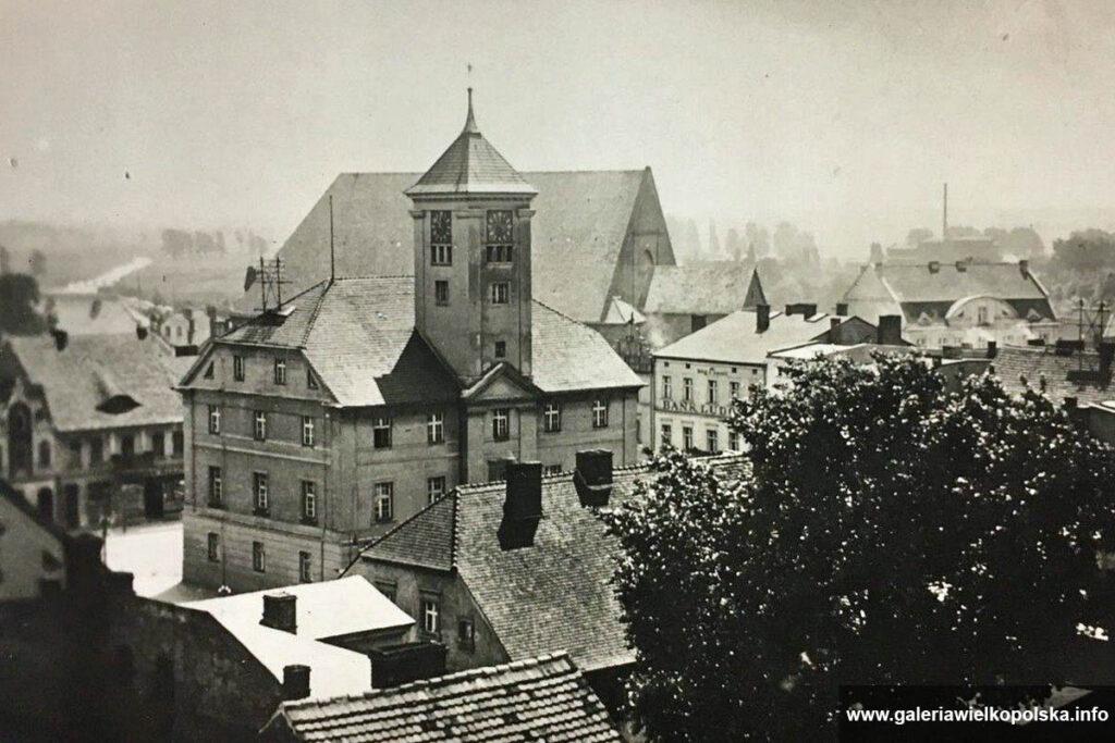 Widok na miasto- lata 40. XX wieku