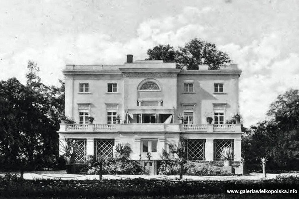 Pałac w Jankowicach przed 1911 rokiem