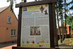 Informacja o drodze św. Jakuba