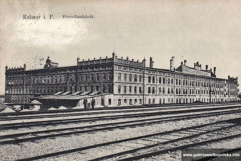 Fabryka chodzieskiej porcelany na początku XX wieku