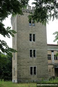 Wieża pałacu w Parzęczewie