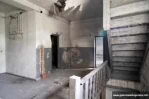Klatka schodowa pałacu w Skoroszowie