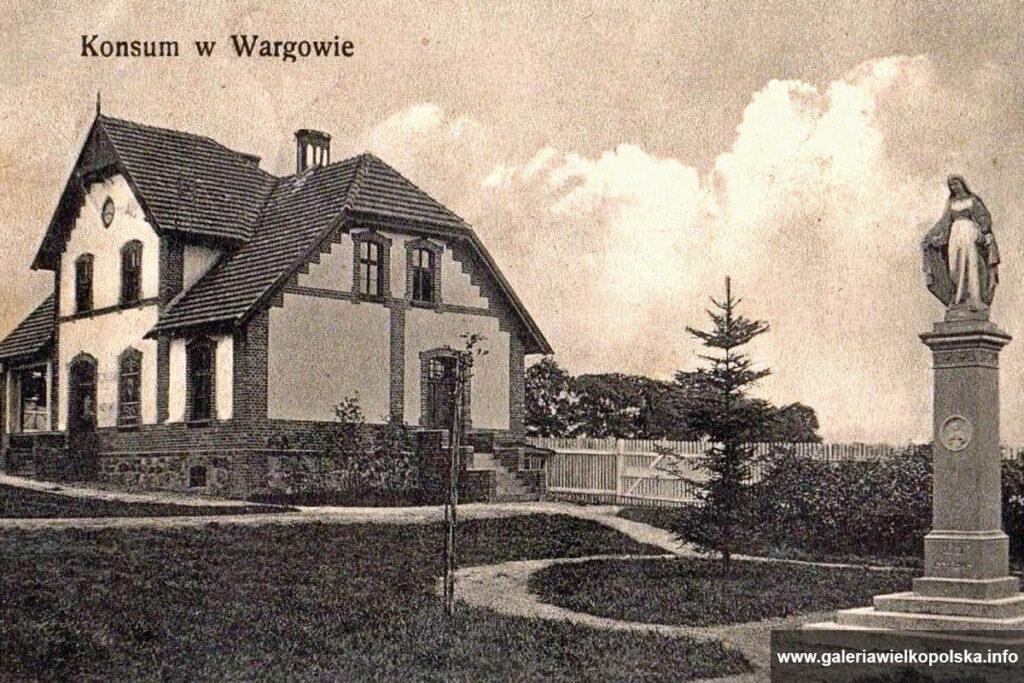 Pocztówka z Wargowa z początku XX wieku