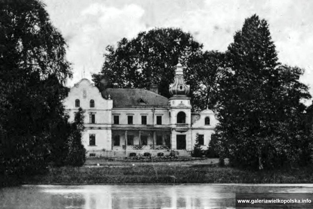 Pałac w Wargowie na początku XX wieku