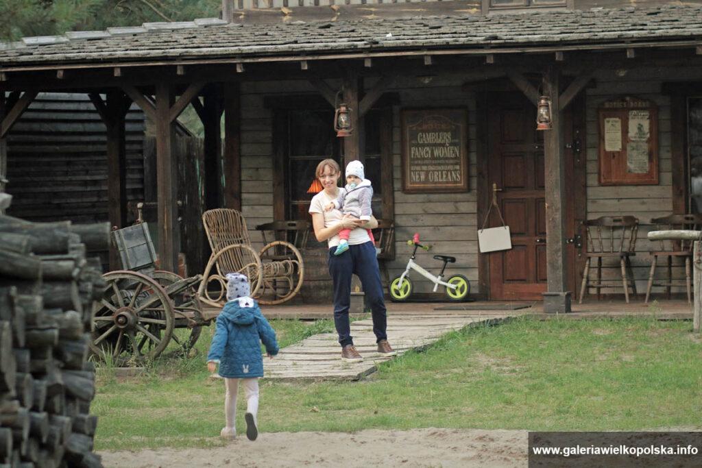 Nocleg w Westernlandzie- Pony Express